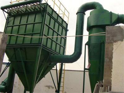 袋式除尘器安装冷风阀可降温